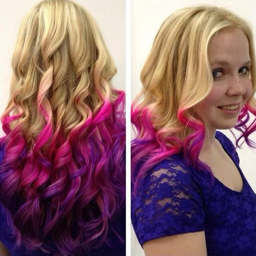 20 Stylish Pink Ombre Hairstyles Hairstyles Ombre Pink