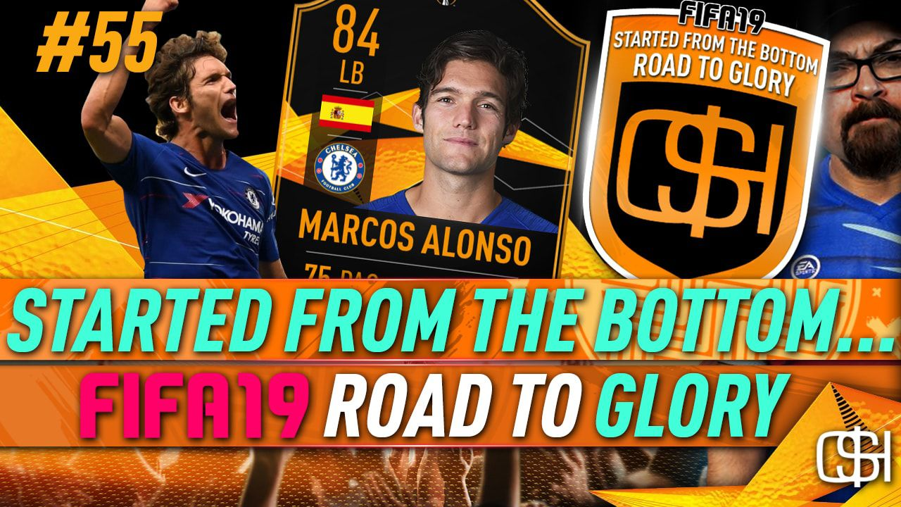 MARCUS ALONSO UEFA EUROPA LEAGUE ROAD TO THE FINAL SBC I