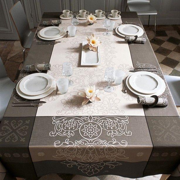 Nappe Villa Toscane Marbre  Déco Table  Pinterest Pleasing Dining Room Tablecloths Review