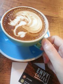 Envy Coffee - Upside Down Latte Art for Right Handed