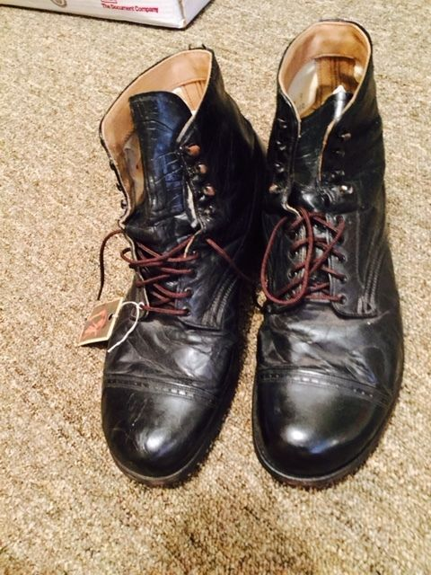1930 S Union Made Men S Leather Work Boots Boots Mens