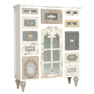 *Vintage Shabby Tall Chest | BelleEscape.com