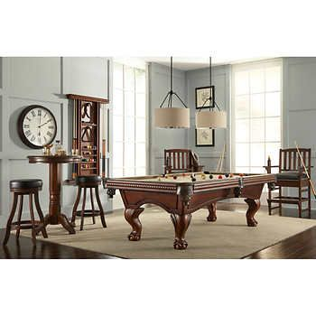 American Heritage Richland 12 Piece Billiard Collection With