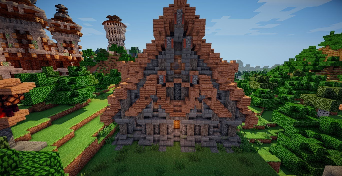 Minecraft Building Ideas #10: Medieval House  Medieval houses