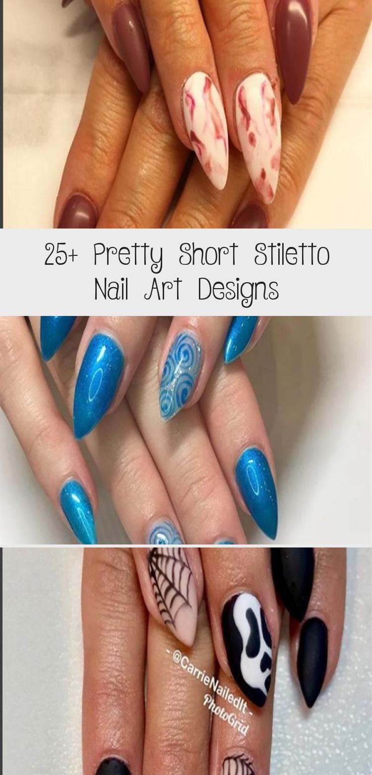 Photo of 25+ Pretty Short Stiletto Nail Art Designs – Nail Art