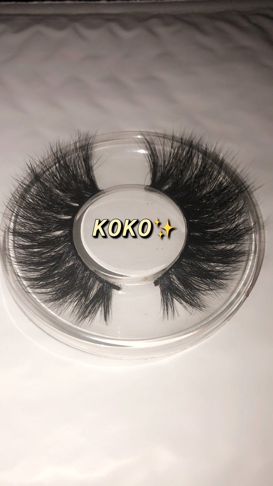 22f556b21b6 KOKO Mink Eyelashes, Gold Glass, Glass Containers, Ardell Lashes, Eyelash  Extensions,