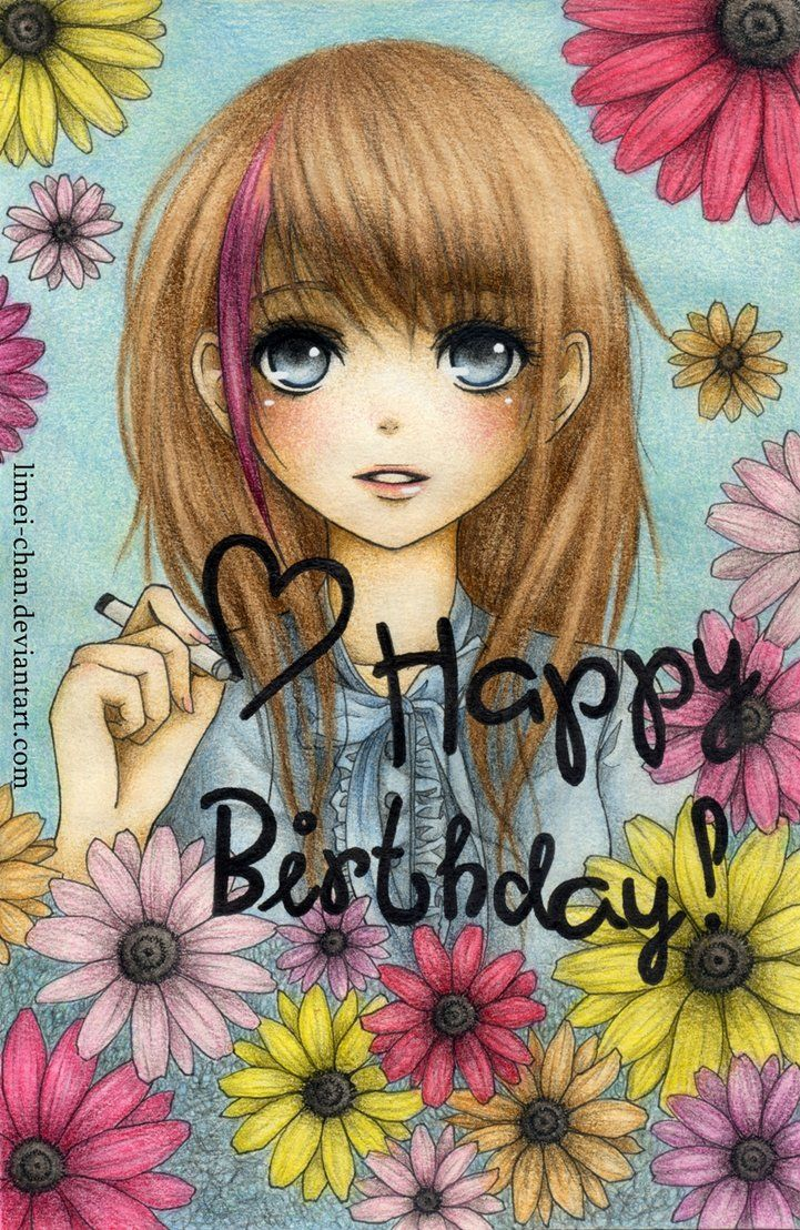 Happy B Day Happy Birthday Sister Anime Happy Birthday Latest