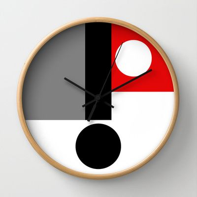 CENSORSHIP Wall Clock by THE USUAL DESIGNERS - $30.00