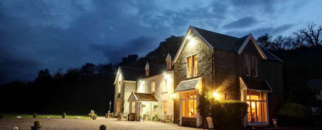 Kilcamb Lodge, Strontian, Argyll, The Highlands, Scotland. Hotel. Accepts  Dogs & Small Pets. #WeAcceptPets.… | Holiday cottage, Country house hotels,  Unusual hotels