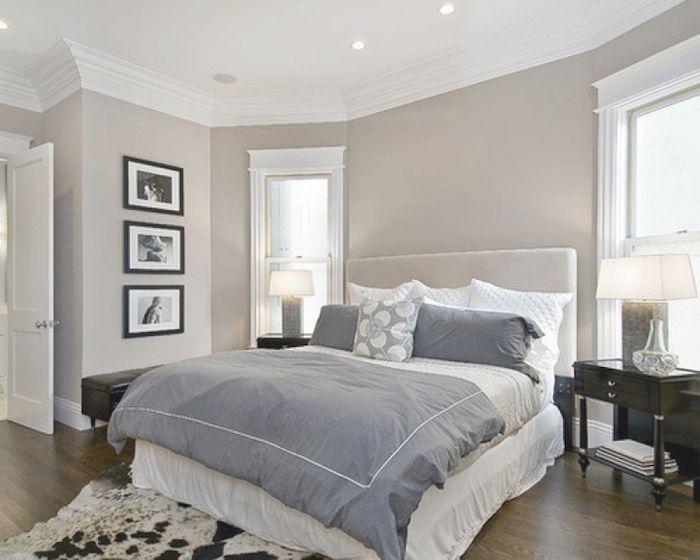 1001 id es chambre parentale grey bedroom paint bedroom paint colors et bedroom colors - Chambre parentale grise ...