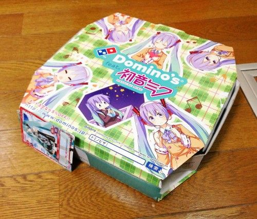 Hatsune Miku Pizza Boxes Sell Out Hatsune Miku I Cool