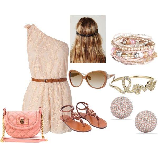 Cute summer day! Not the hippy hair do(;