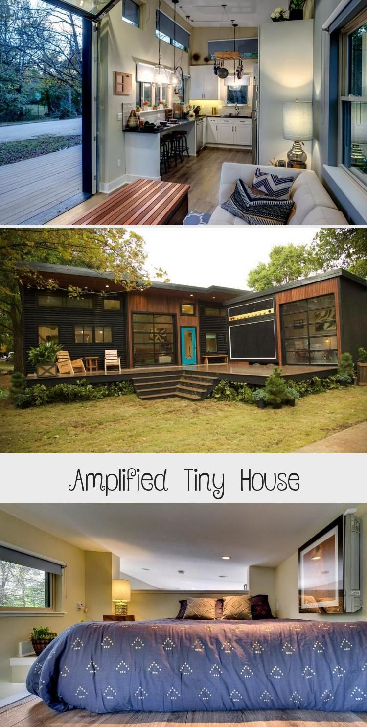 Amplified Tiny House In 2020 Tiny House Small Cabin