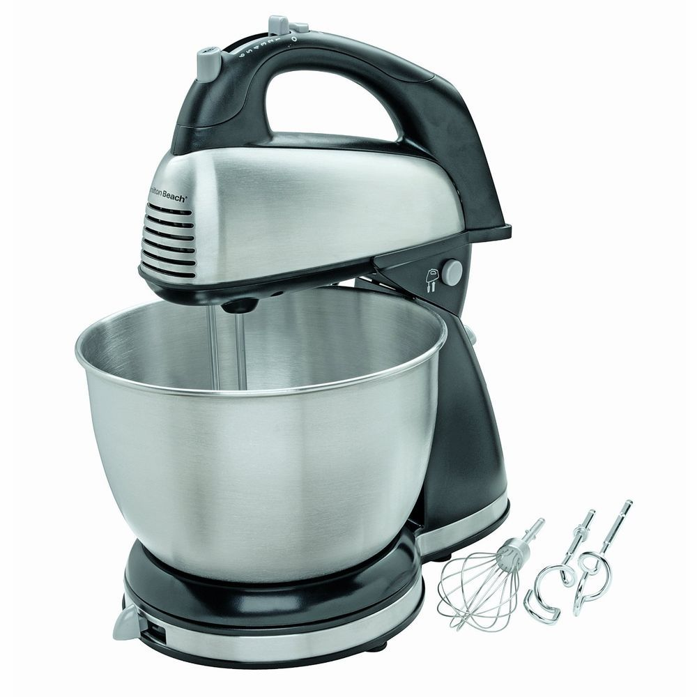 CLASSIC STAND MIXER ELECTRIC BOWL BEATER KITCHEN BAKE HAND MIXMASTER ...