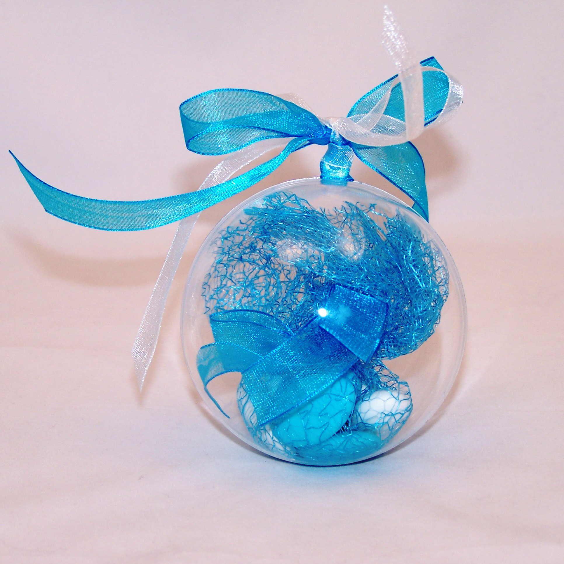 Boule Plastique A Decorer Épinglé sur déco