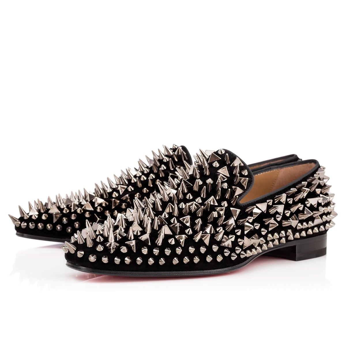 Christian Louboutin Dandy Pik Pik Metallic Loafers sale official outlet huge surprise clearance pictures free shipping sneakernews pwLNhr8i7x
