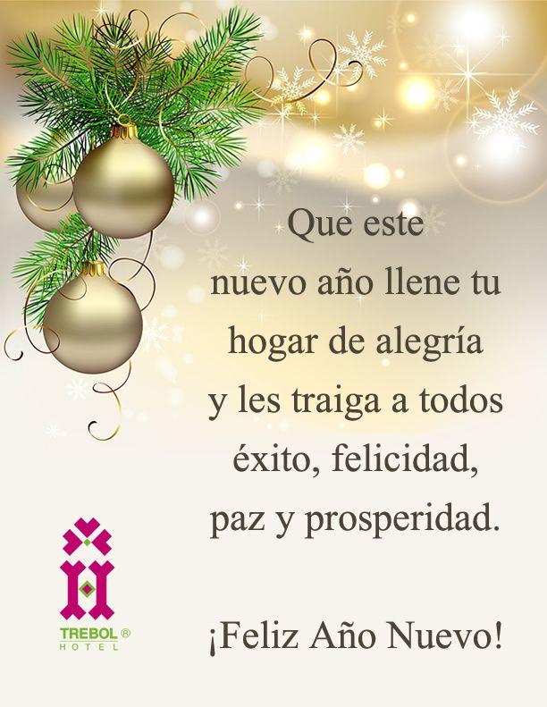 Felicidades Saludos De Año Nuevo Feliz Año Nuevo Tarjeta De Navidad Mensajes