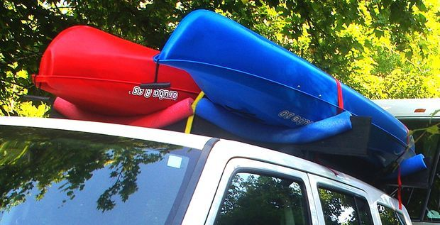 Diy Kayak Roof Rack More