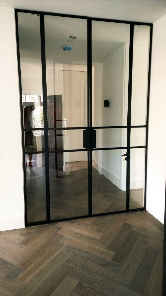 Black Steel Inside Door New House Doors