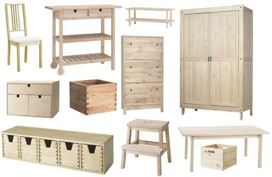 Roundup Paintable Wood Ikea Furniture Ikea Furniture Unfinished Wood Furniture Furniture