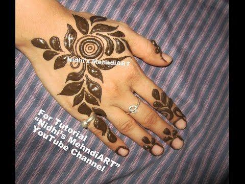Finger Mehndi Art : ᴴᴰ best henna finger mehndi designs special jasa hena indo