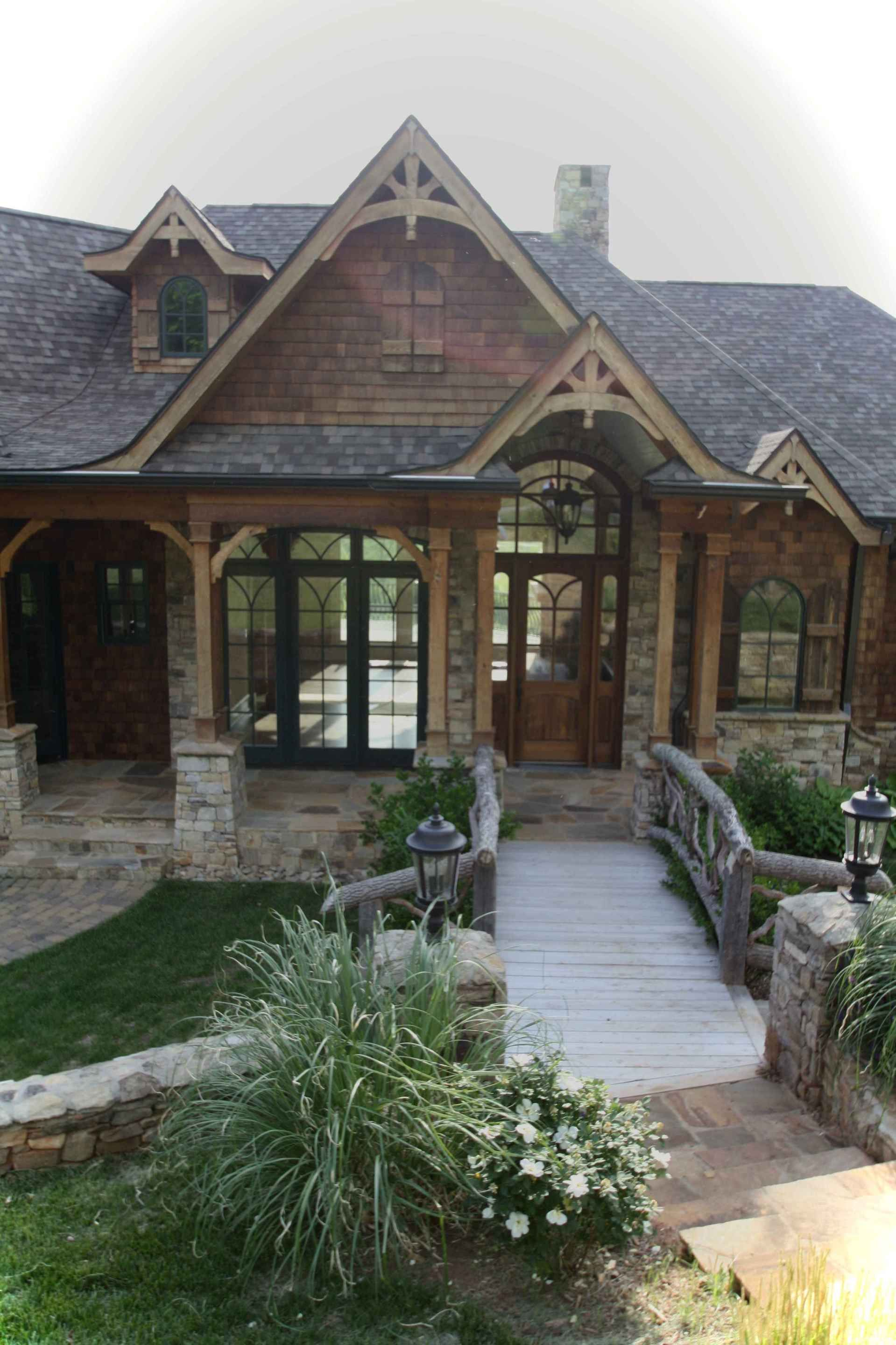 Awesome Cottage House Exterior Ideas Ranch Style 11 Lovelyving In 2020 Cottage House Exterior Ranch Style House Plans Mountain House Plans