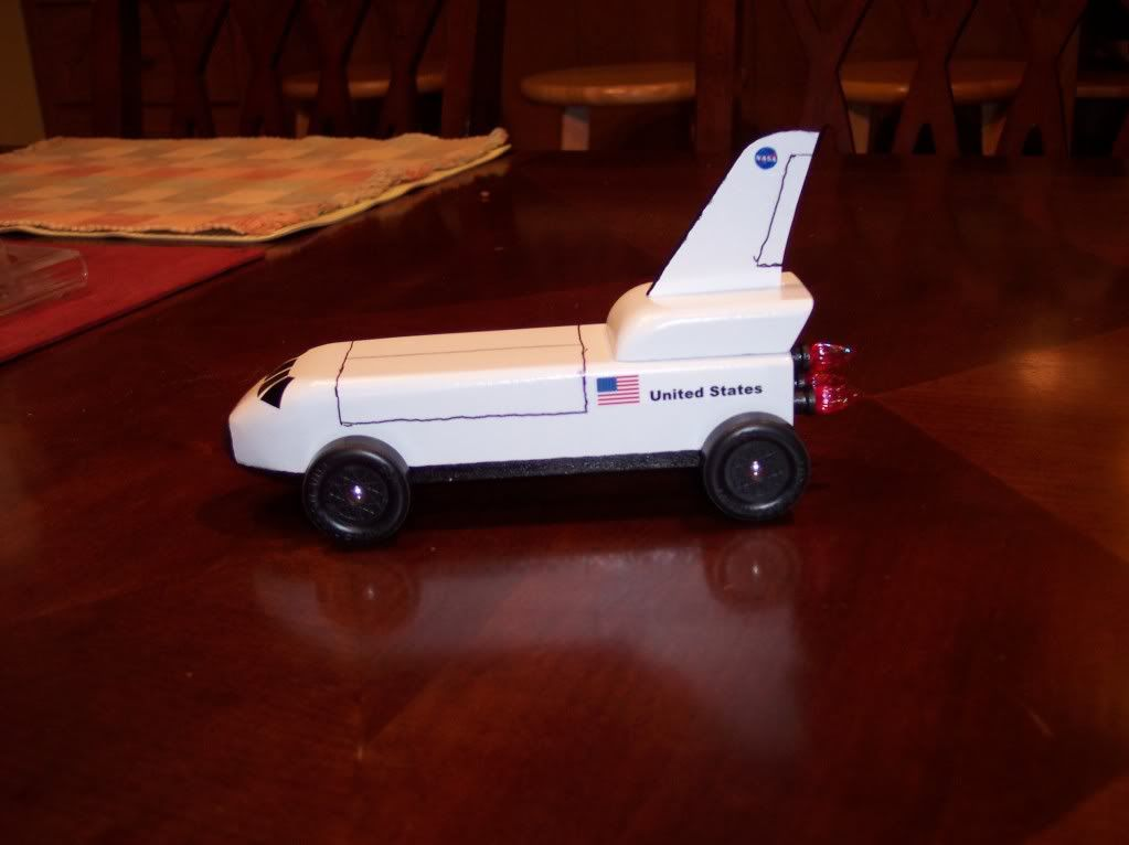 Space Shuttle Themed Cars - Pics about space