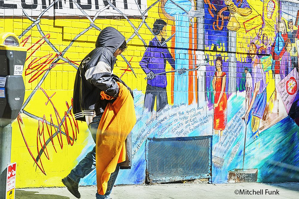Color Wall Art The Tenderloin, San Francisco By Mitchell Funk www ...