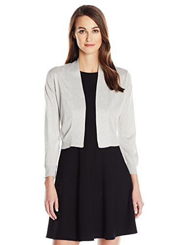 a79202212c71ae Women s Shrug Sweaters - Calvin Klein Womens Lurex Shrug -- Continue to the  product at the image link. (This is an Amazon affiliate link)