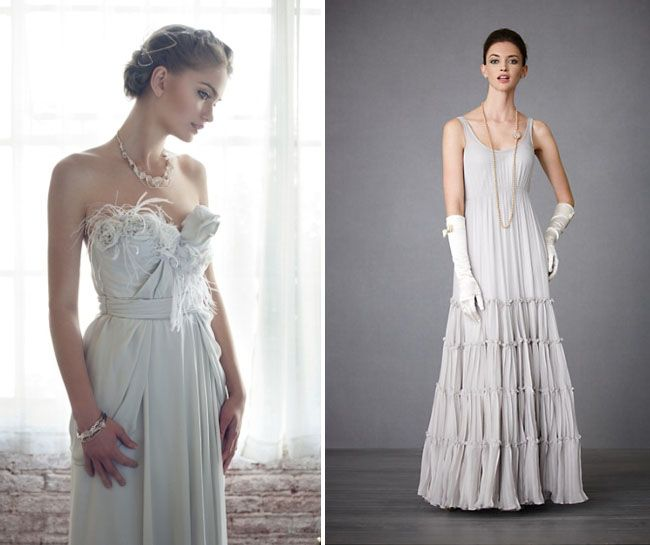 Gray Wedding Dresses Are Very Unique