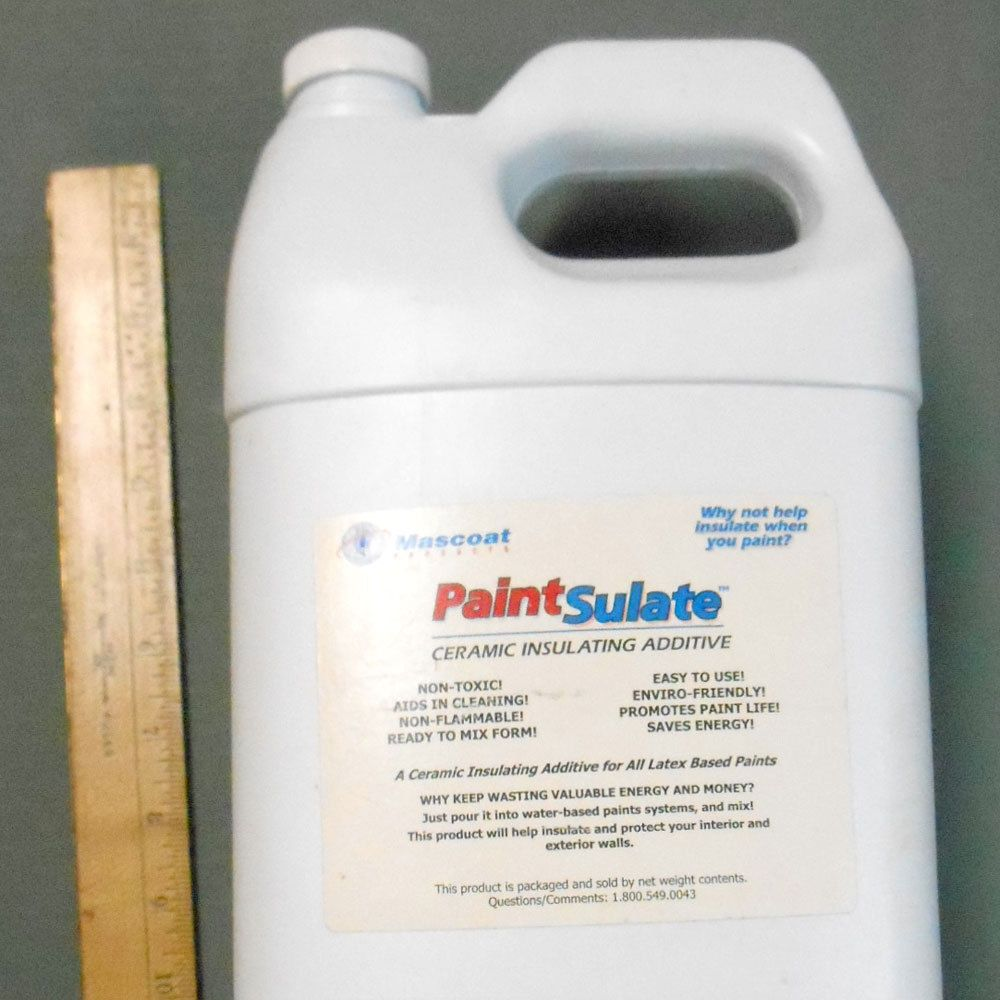Paintsulate Ceramic Radiant Heat Reflective Insulating Paint Additive Barrier