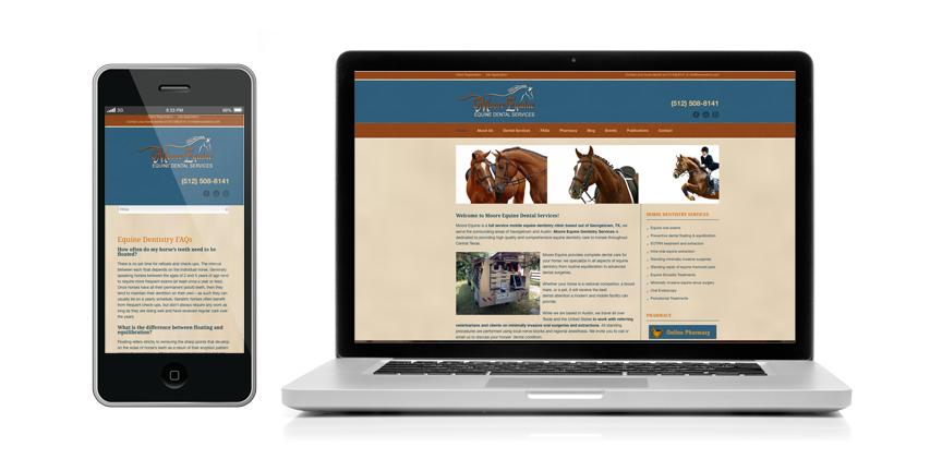 Equine Veterinarian Website Design Website Design Website Site Design
