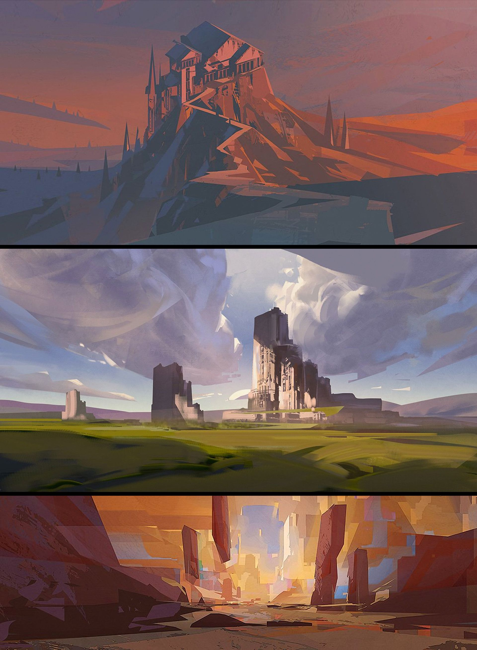 ArtStation Sketches 4, Jordan Grimmer Painting, Oleos