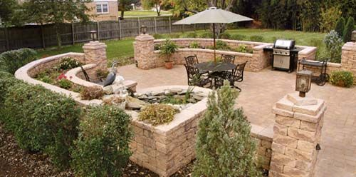 EP Henrys Cast Stone Wall Durango Cast Veneer Stone Inside - Ep henry patio
