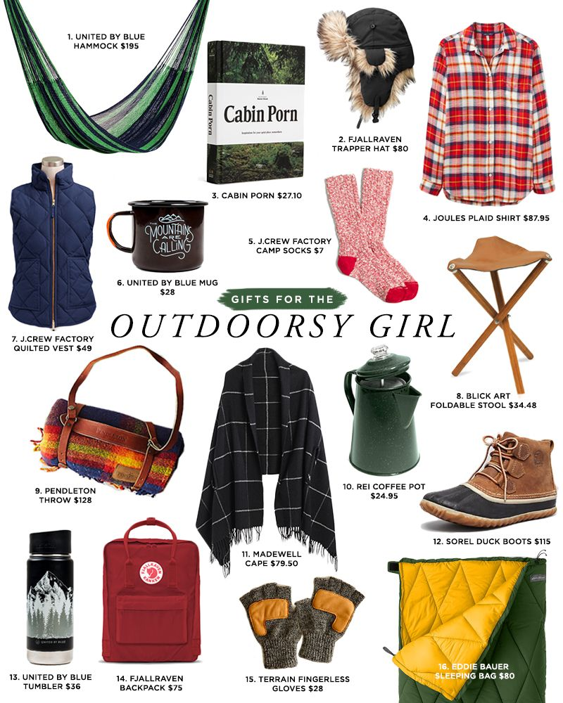 b0d0e1e89e7 Budget-friendly holiday gifts for the outdoorsy girl