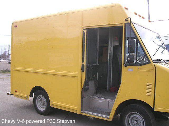 used 1998 chevy p30 aluminum body step van for sale truck ideas step van van for sale vans. Black Bedroom Furniture Sets. Home Design Ideas