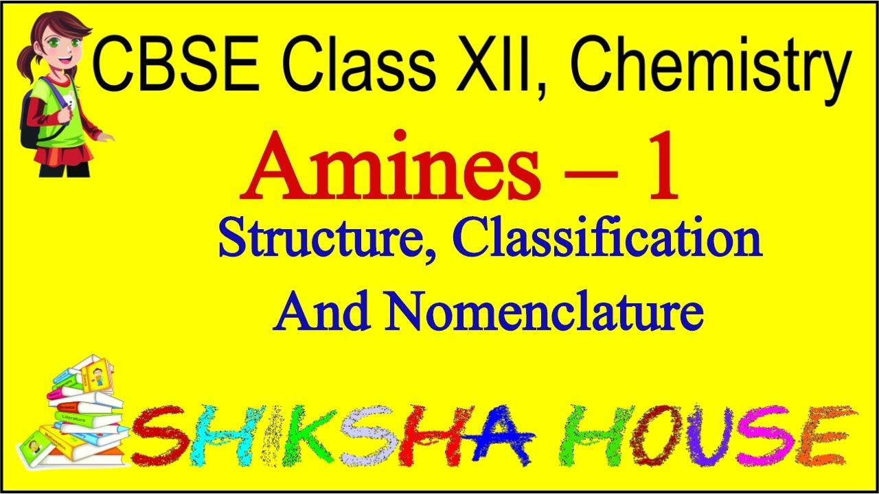 Cbse class 12 chemistry amines 1 structure