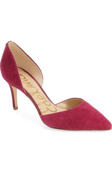 4b4abf4a6 SAM EDELMAN  Telsa  D Orsay Pointy Toe Pump (Women).  samedelman  shoes   pumps