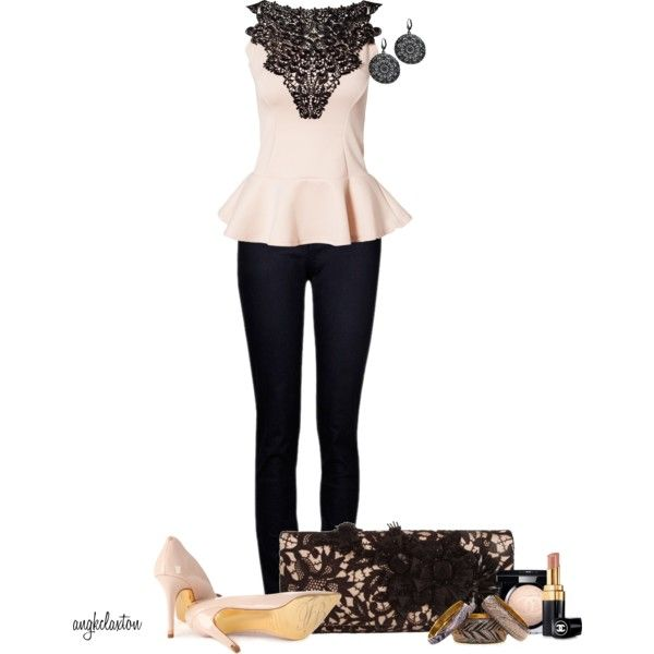 """""""Peplum Top Contest 3"""" by angkclaxton on Polyvore"""