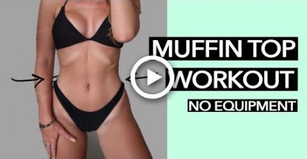 Muffin Top Workout | (15 MINS) #fitness