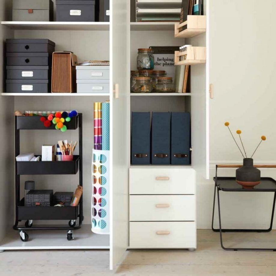 Home Office Storage Ideas To Help You Keep On Top Of Your Work En 2020 Idee Rangement Bureaux Maison Modernes Petits Bureaux A Domicile