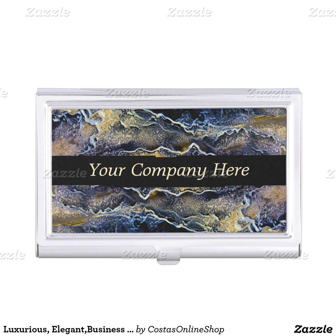 Luxurious, Elegant,Business Card Holder