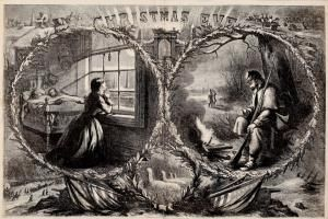 Images of Christmas Throughout the 19th Century: Christmas Eve 1862 by Thomas Nast