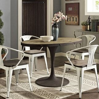 """Shop For Drive 47"""" Oval Wood Top Dining Tableget Free Shipping Inspiration Dining Room Furniture Outlet Stores 2018"""