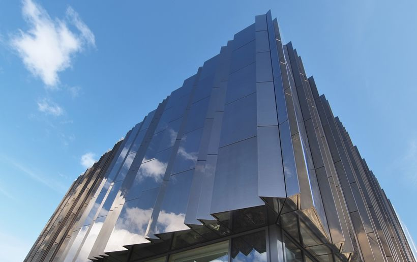 Stainless Steel Metal Cladding : Stainless steel cladding tower nst pinterest see