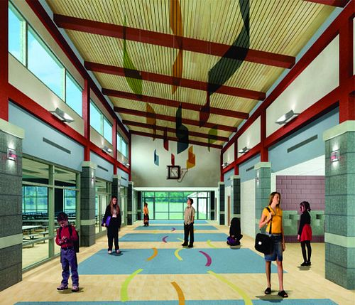 Delaware Valley SD New Elementary School High Addition Milford