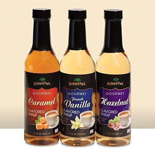Orchard Park Flavored Syrup 12 Pack Case French Vanilla