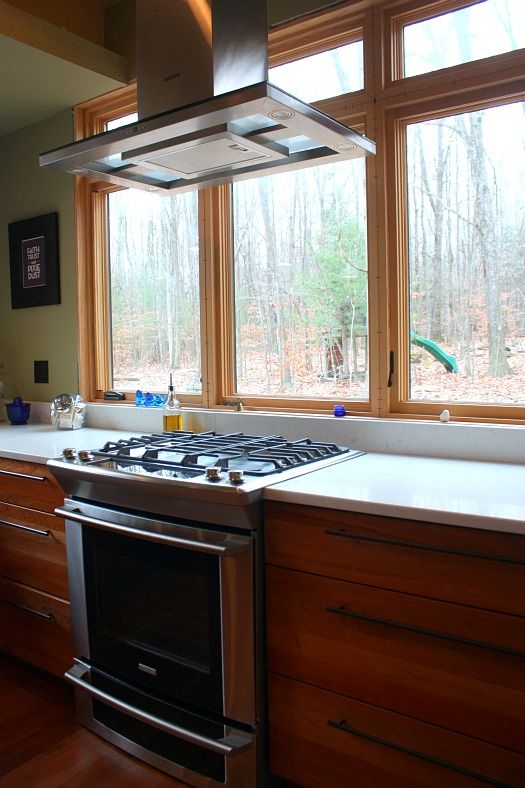 8 stove in front of window ideas home