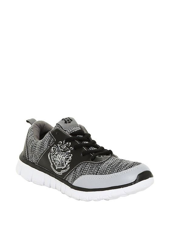 1d52fc29ce5e Harry Potter Hogwarts Crest Athletic Sneakers | Want/Need | Hogwarts ...