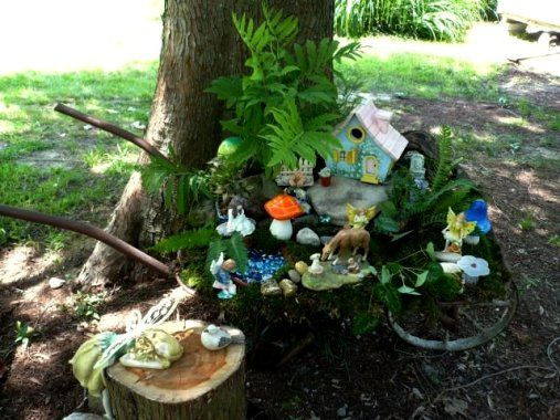 old wheelbarrow ideas how to creating a magical fairy garden flea market gardening